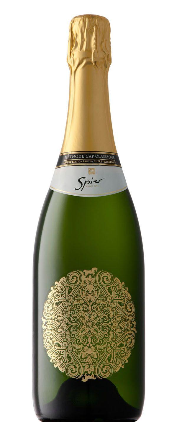 Spier Sparkling Wine by Simon Frouws, via Behance