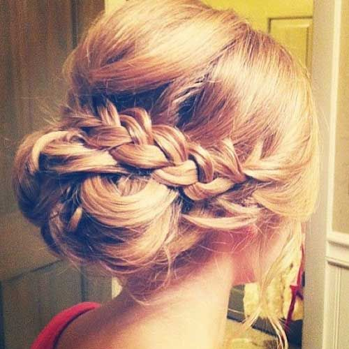 Stupendous 1000 Ideas About Braided Wedding Hairstyles On Pinterest Hairstyles For Women Draintrainus