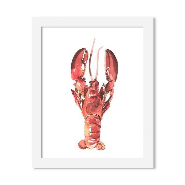 lobster  - 8 x 10 print - JustGreet