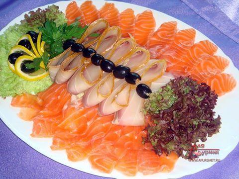 Рыбные закуски фото-рецепты