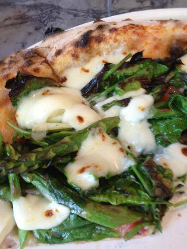 Custom Pie - Moorpark, CA...Pizza – Asparagus, Smoked Mozzarella ...
