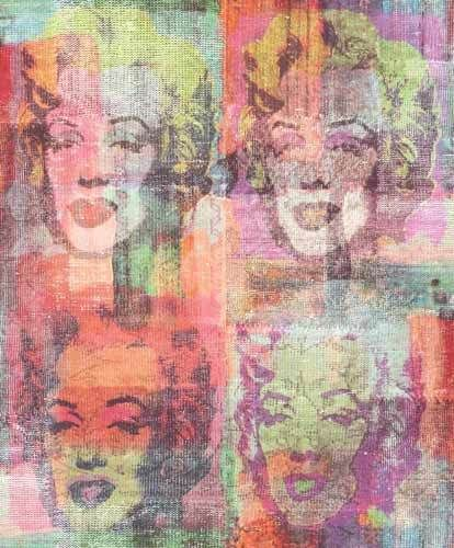 WU-17634 - Whats Up Marilyn Munro Multicoloured Galerie Wallpaper