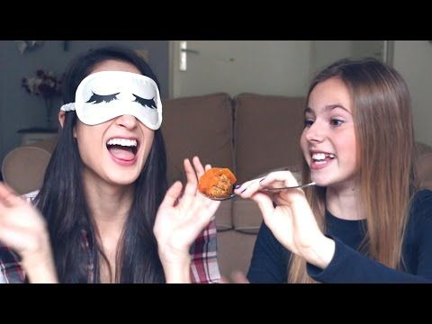 WHAT'S IN MY MOUTH CHALLENGE met Nina Houston || MeisjeDjamila - YouTube