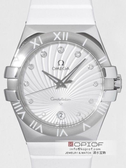 オメガ コンステレーション コピー123.12.35.60.52.001 SS/ラバー 11Pダイヤ クォーツ シルバー 販売価格:19000 円 ポイント付与:700 P http://www.dokei-copy.com/watch/omega/constel/58fec780ff952344.html