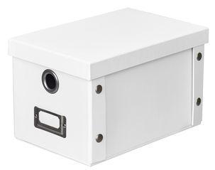Förvaringsbox med lock - 16,5x25x15 cm