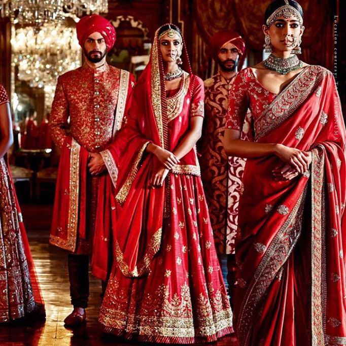 Sabyasachi Heritage Bridal new fall winter wedding 2015 collection part 2