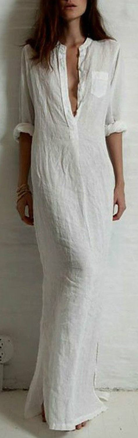 Maxi cotton dress with soft feeling. Let's toast to it!