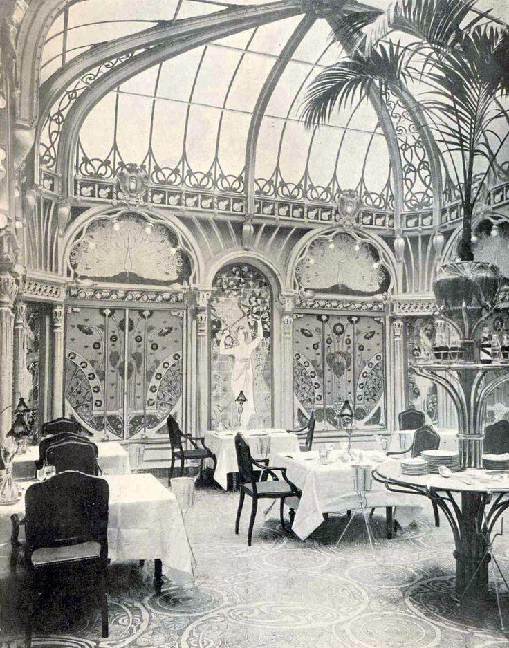419 best art nouveau paris images on pinterest calla for Best dining rooms paris