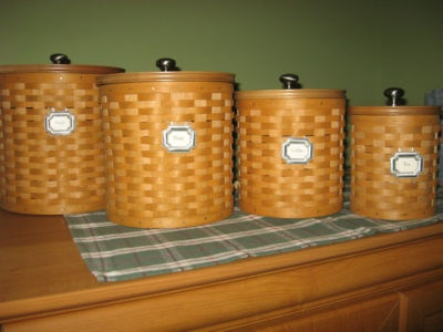 Canister Baskets | Longaberger Baskets And More ...