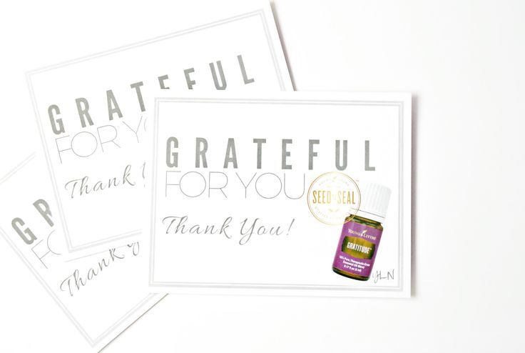 Periodically send Thank You cards.  YL Nation is a team of passionate people that have a heart to share Young Living with others.