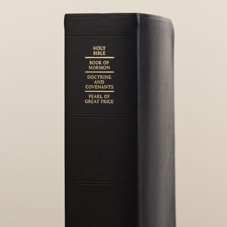 Large Quad - Genuine Leather | Quad Combination on LDSBookstore.com (#LDS-QUADLRG-GEN-2013)