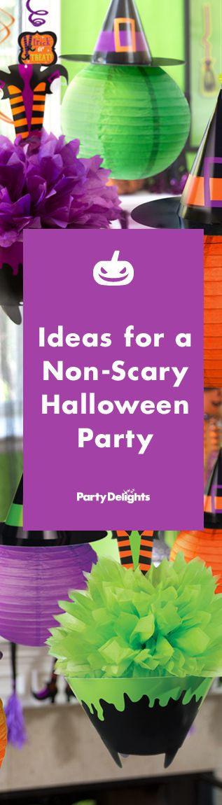 A kids' Halloween party doesn't have to be super spooky. Take a look at our non-scary kids' Halloween party ideas to throw a spooky-cute Halloween bash that toddlers and pre-schoolers will love.