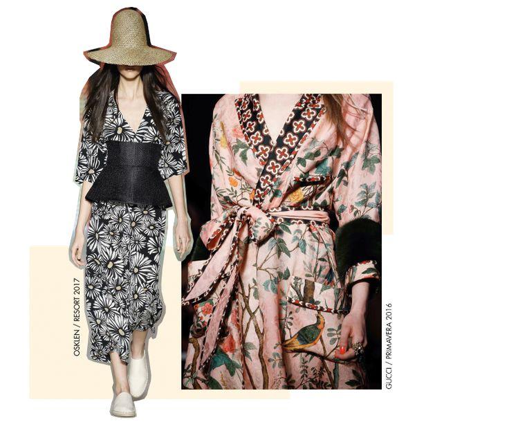Alerta de tendência: japonismo –kimonos e estampas japonesas