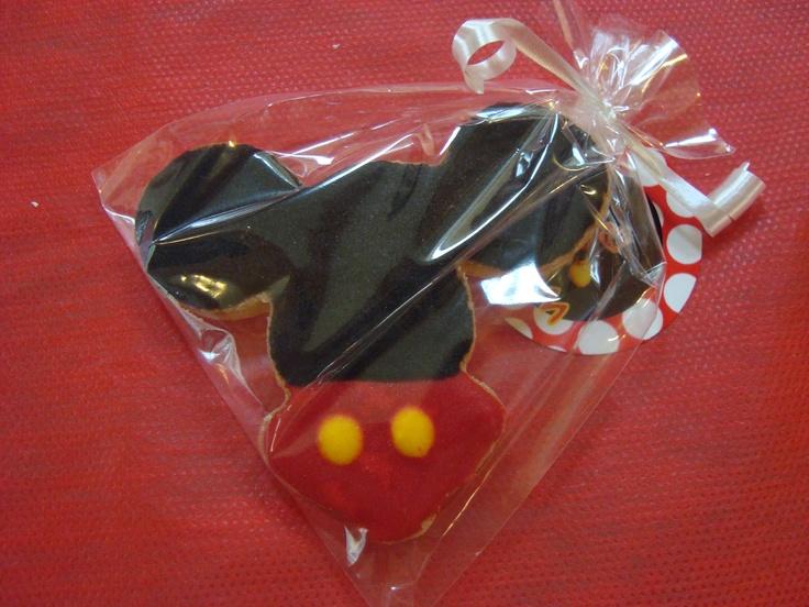 Cookies tematicas, carita de mickey