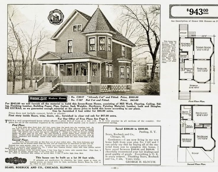 Sears home floor plans pinterest montgomery ward a for Catalog houses