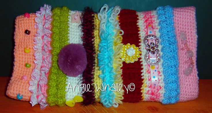 3rd Crocheted Twiddlemuff :)