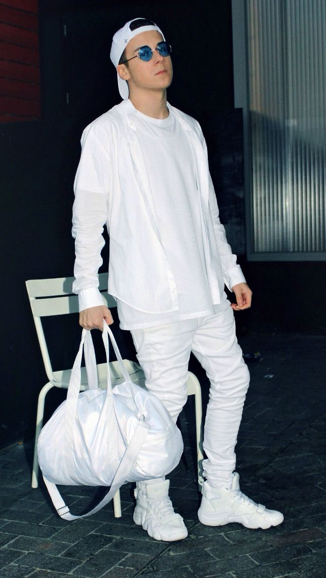 85 best men's all white outfit images on pinterest  man