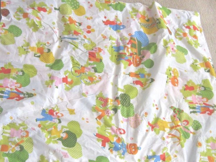 248 best images about retro sheets and sleeping bags on for Retro baby fabric