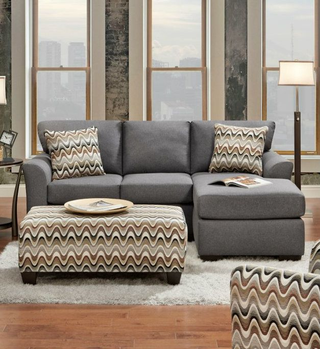 Excellent Affordable Furniture Cosmopolitan Grey Sectional Sofa In Pabps2019 Chair Design Images Pabps2019Com