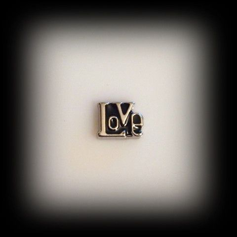 """Love"" Floating Charm 