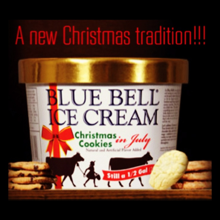 28 best images about bluebell ice cream on pinterest for Christmas cookie ice cream blue bell
