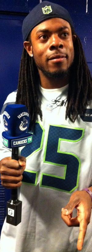 Richard Sherman - Vancouver Canucks Reporter