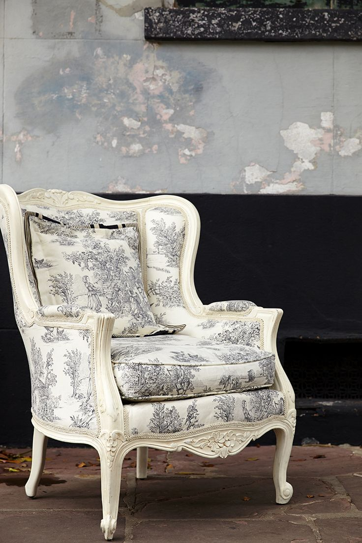108 best annie sloan fabrics images on pinterest toile de jouy fabrics by annie sloan upholster a beautiful lounge chair charcoal pastorale gumiabroncs Image collections