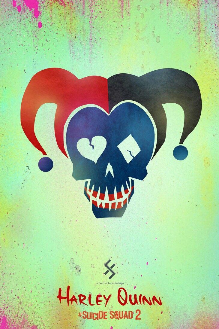 Suicide Squad Harley Quinn Wanted Poster Movie Prop Replica Print Batman Joker