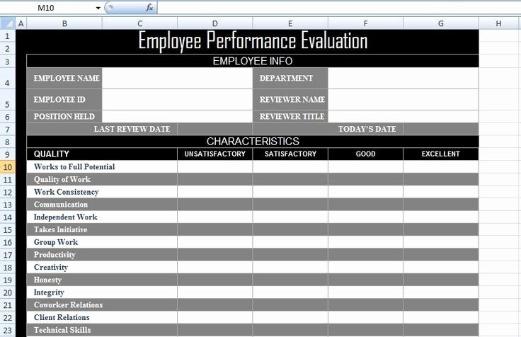 Employee Performance Tracking Template Excel Awesome 623 Best