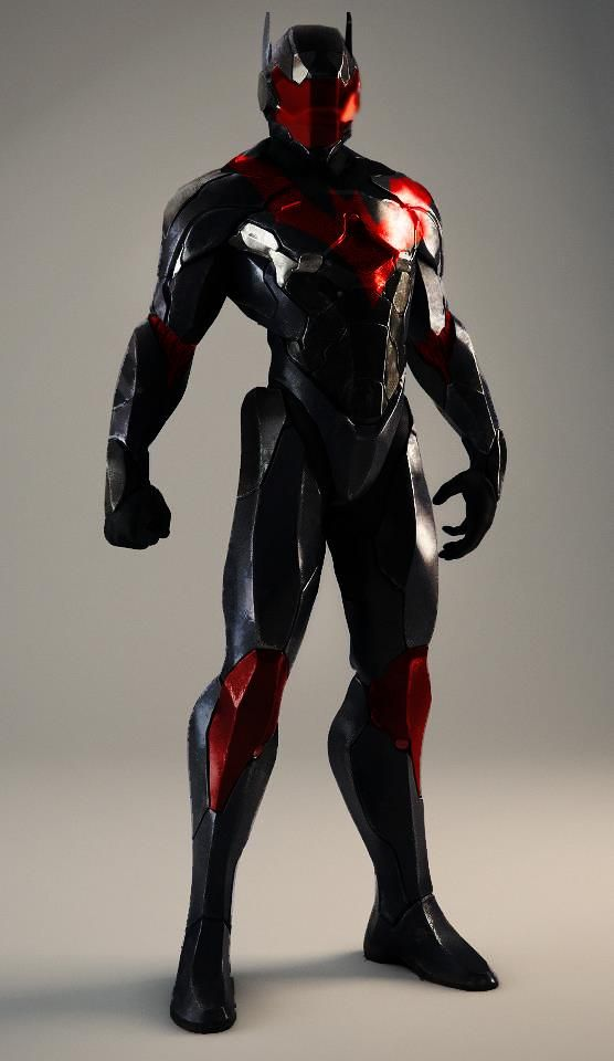FAN ART: *updated* Batman Beyond Suit Design