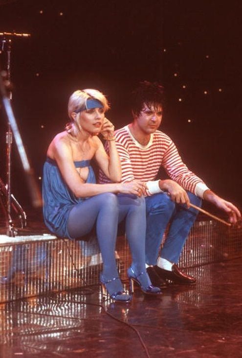 Blondie - Debbie Harry — Debbie Harry en Clem Burke