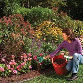 Mulch Guide:  Info on why you should use it,  what type and how much to use. Mulch is a homeowner's best friend!!!  It's an instant facelift for your yard, plus you save soooo much time weeding and watering!