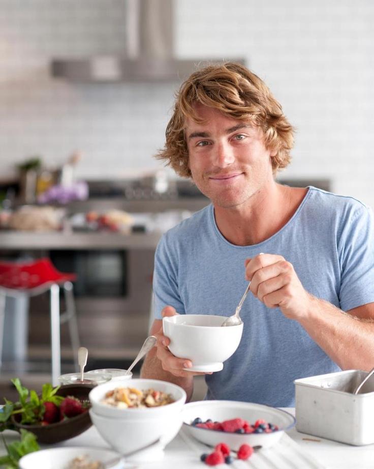 Hayden Quinn from Masterchef Australia.