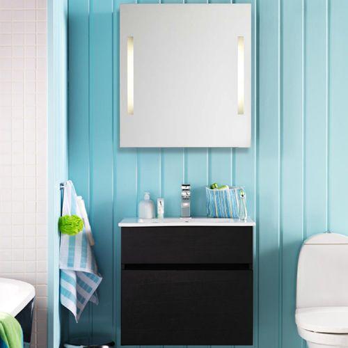 6296 kr + blandare + spegel. Hafa East 600 Badrumsmöbel med spegel