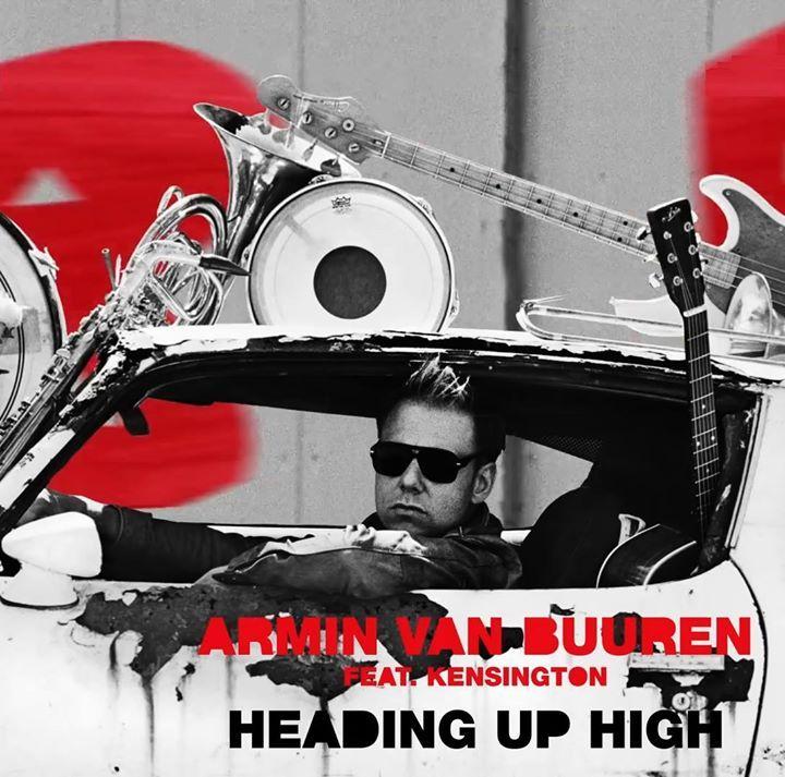 Армин ван Бюрен опубликовал новое музыкальное видео на композицию Heading Up High записанную при участии альтернативной-рок группы Kensington.  Трек Heading Up High был презентован в качестве шестого сингла с недавней пластинки Embrace в минувшую пятницу 5 февраля.  https://youtu.be/Q2C2V3kac08 - http://ift.tt/1HQJd81