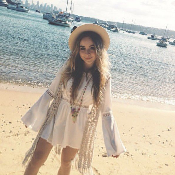 """Sabrina's POV Shawn came up to me and said """"Get ready Sab, I'm taking you to the beach,""""ANOTHER DATE! YAY!I wore light makeup and a simple outfit"""
