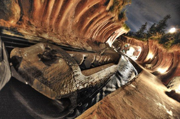 The smell of damp wood on Splash Mountain. | 15 Smells You Always Smell At Disneyland