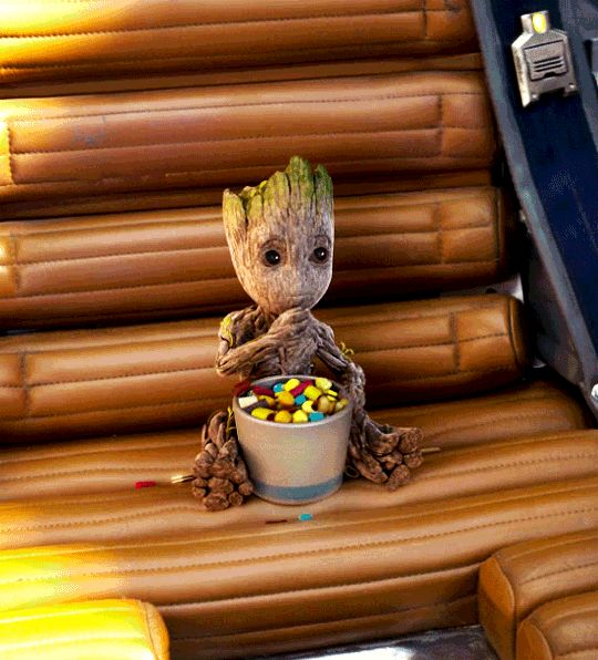 Baby Groot. He's so adorable