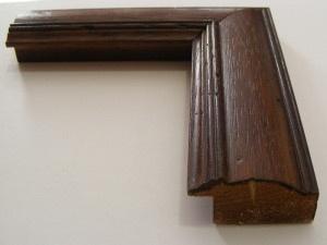Cornice in legno su misura bombata - Vendita cornici in stile arte povera