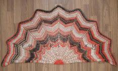 chusta / szal / druty / shawl / knitting / Druciki Dory