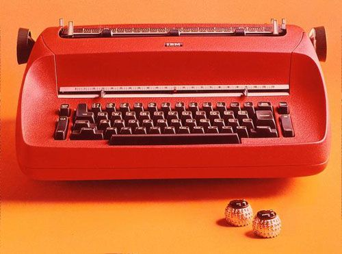 Typing class....! IBM Selectrics.  Best typewriters . ever.  Wish they still made them.