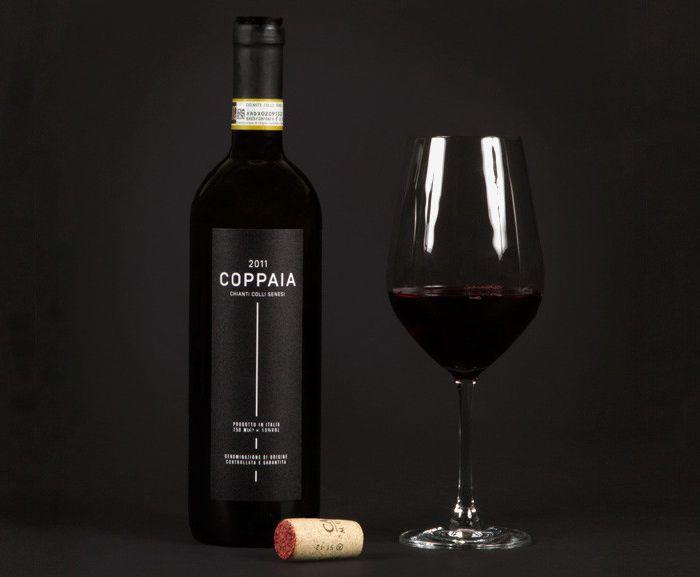 Coppaia GaiaWine - The Dieline - designby: Anti + Grandpeople