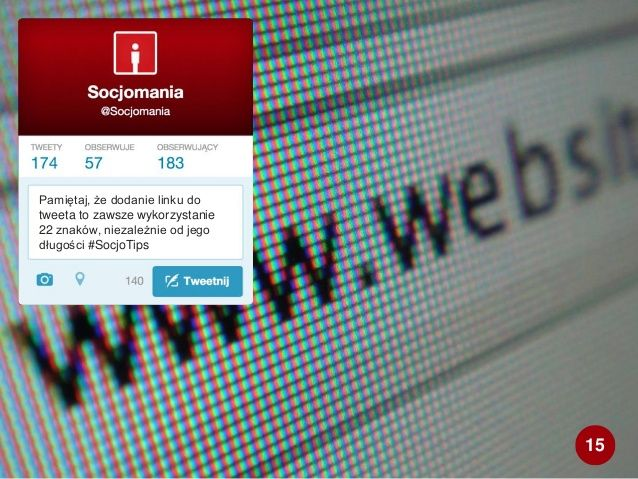50 Twitter Tips (15). Full presentation: http://www.slideshare.net/Socjomania/50-porad-jak-dziaac-na-twitterze  #Twitter #TwitterTips #SocialMedia #SocialMediaTips