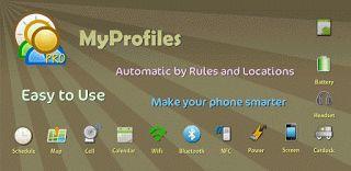 """MyProfiles  (Profile Manager) V5.2.0 (Patched Proper)   Jueves 12 de Noviembre 2015.  Por: Yomar Gonzalez   AndroidfastApk  MyProfiles  (Profile Manager) V5.2.0 (Patched Proper)  Requisitos: 2.0  Información general: El más fácil utilizar el teléfono aplicación perfil nunca.  """"Situación y regla basada gestor de perfiles.Muy fácil de usar. """" """"5 estrellas calificación nos animan a seguir mejorando gracias  """" """"Características"""" - Perfil del interruptor automáticamente por normas (Temporizador…"""