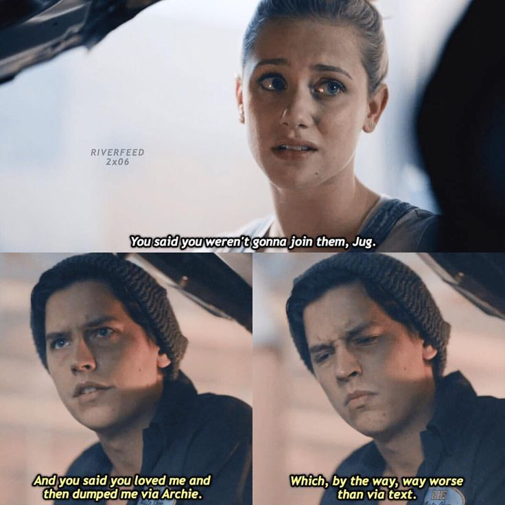"""14.9k Likes, 845 Comments - Riverdale (@riverfeed) on Instagram: """"[2.06] — comment a '❤️' if you ship Bughead and a '❌' if you don't!"""""""
