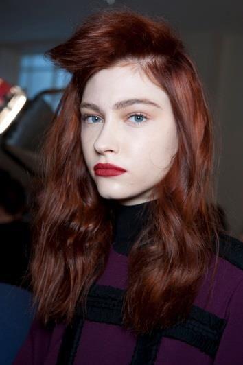 Roksanda Autumn/Winter 2015: Get the Hair Look