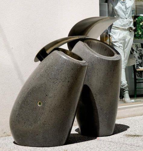 die besten 25 outdoor aschenbecher ideen auf pinterest. Black Bedroom Furniture Sets. Home Design Ideas