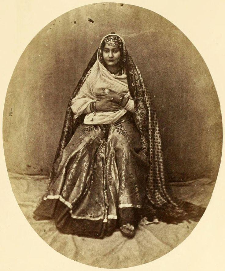 "iseo58: "" Zahore-Begum,-Mahomedan—-Allahabad-c1860's """