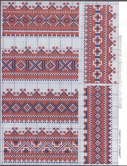 Folklored: South Slav Embroidery Schemes - 1