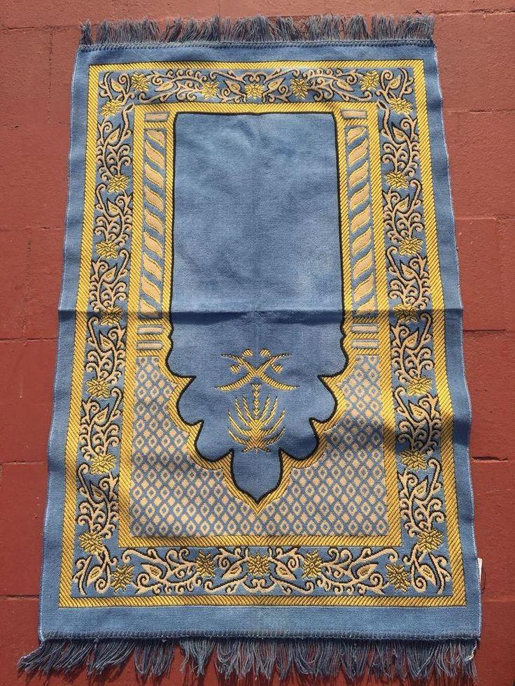 Prayer Mat MOROCCO Salah Jaanemaz Pray Islamic Muslim Rug SajdaSoft freechipping